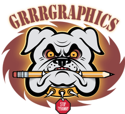 Grrr Graphics bulldog
