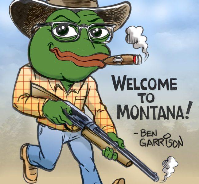 Pepe Frog goes to Montana