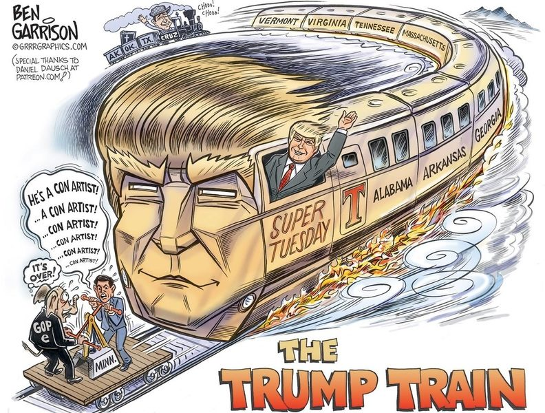 The Super Tuesday Express