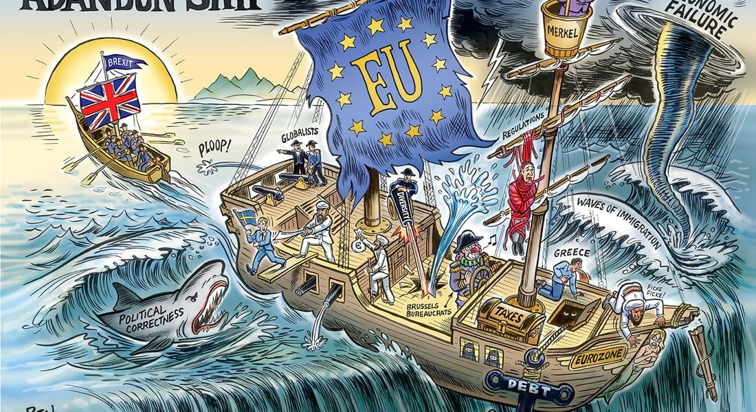 Abandon Ship, Brexit, Great Britain's Escape from the EU
