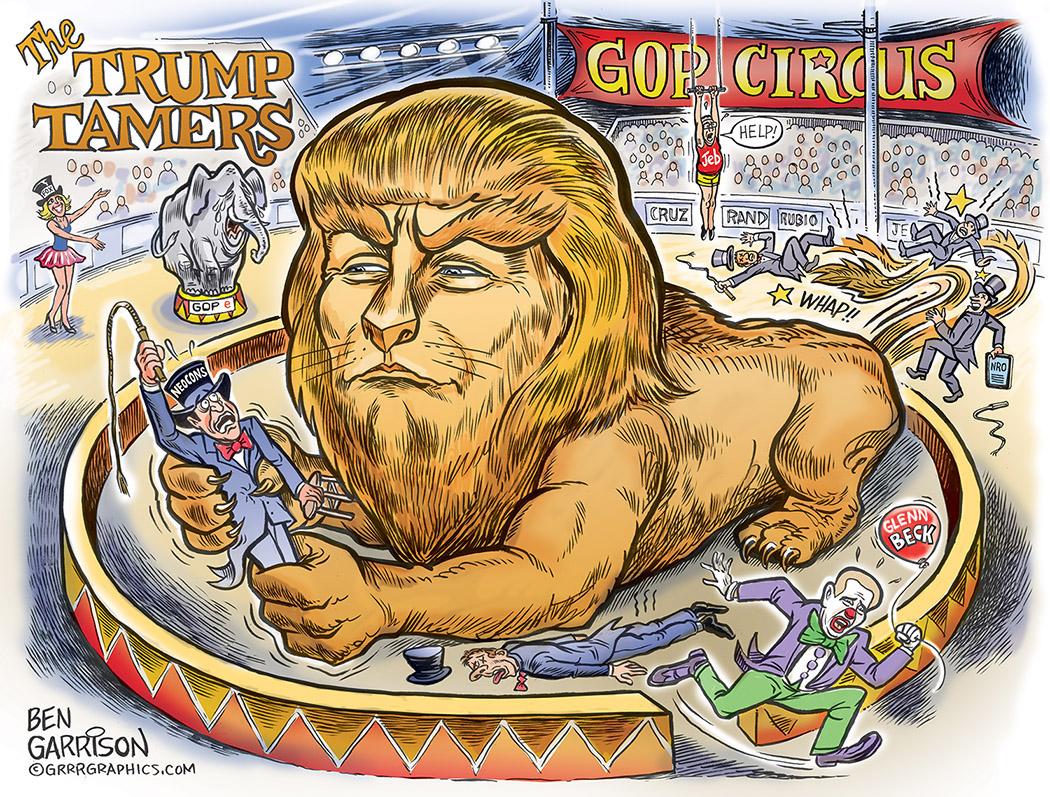 Trump tames the MSM Glenn Beck