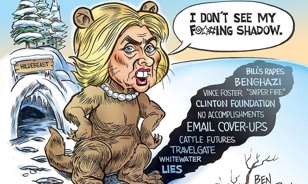 Hillary Groundhog Clinton