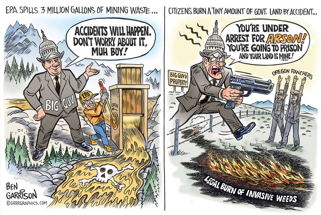 EPA spills BLM grabs