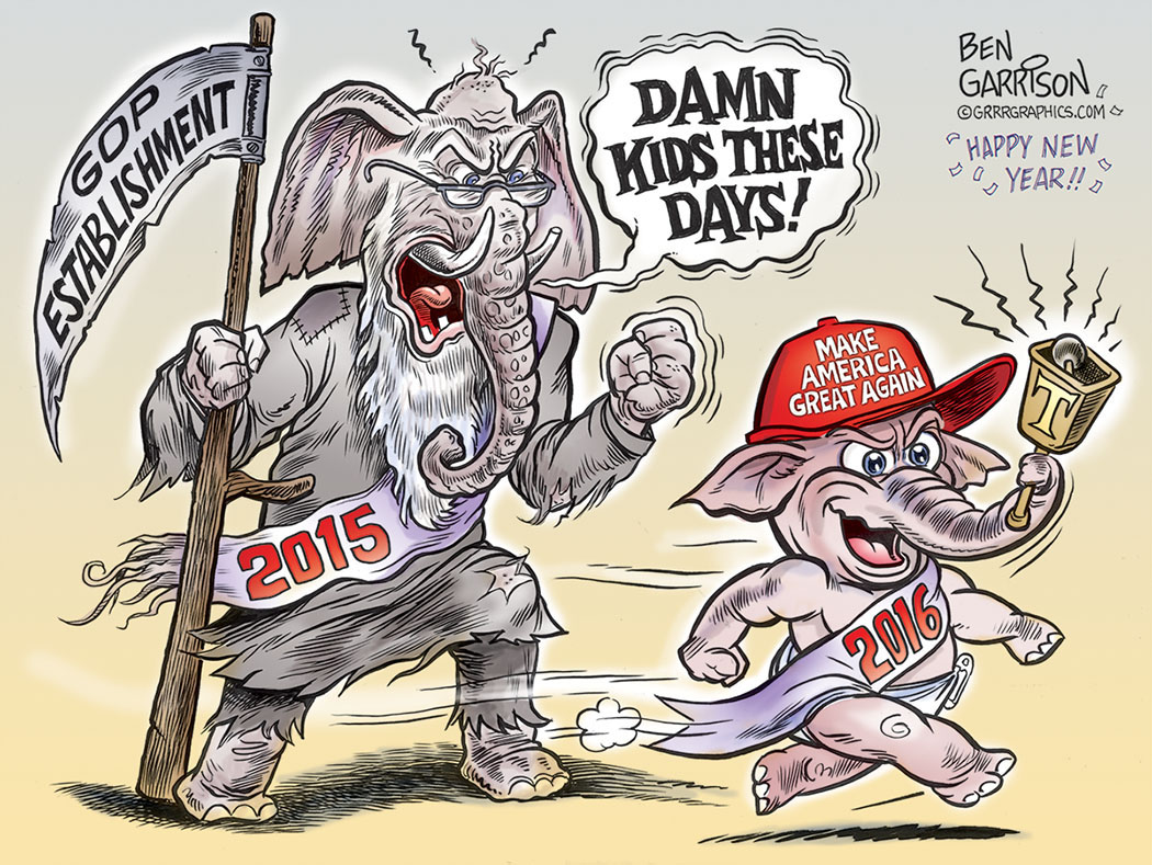 GOP new year with Trump