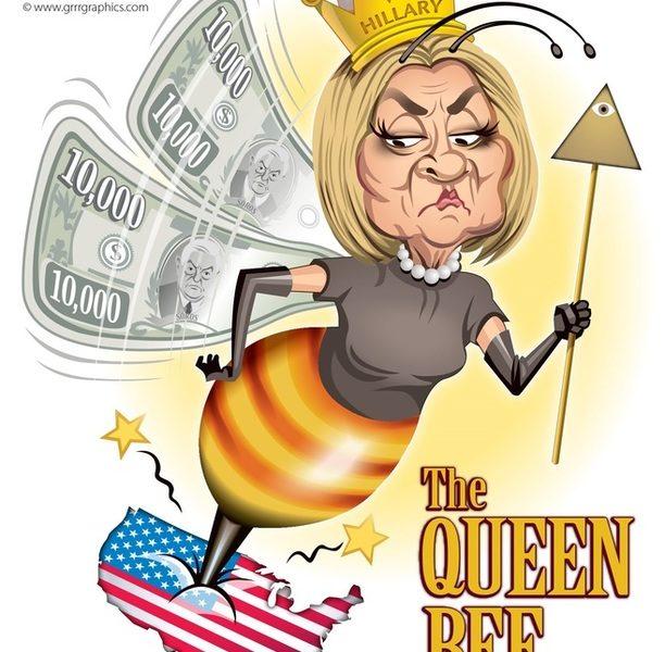 Hillary Clinton, the Queen Bee