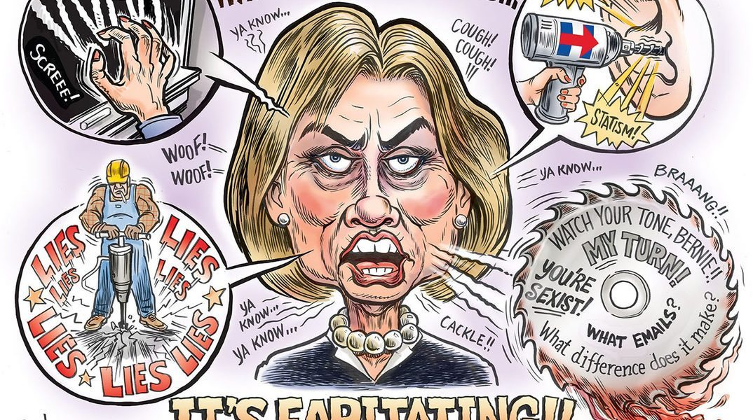 When Hillary Speaks…..