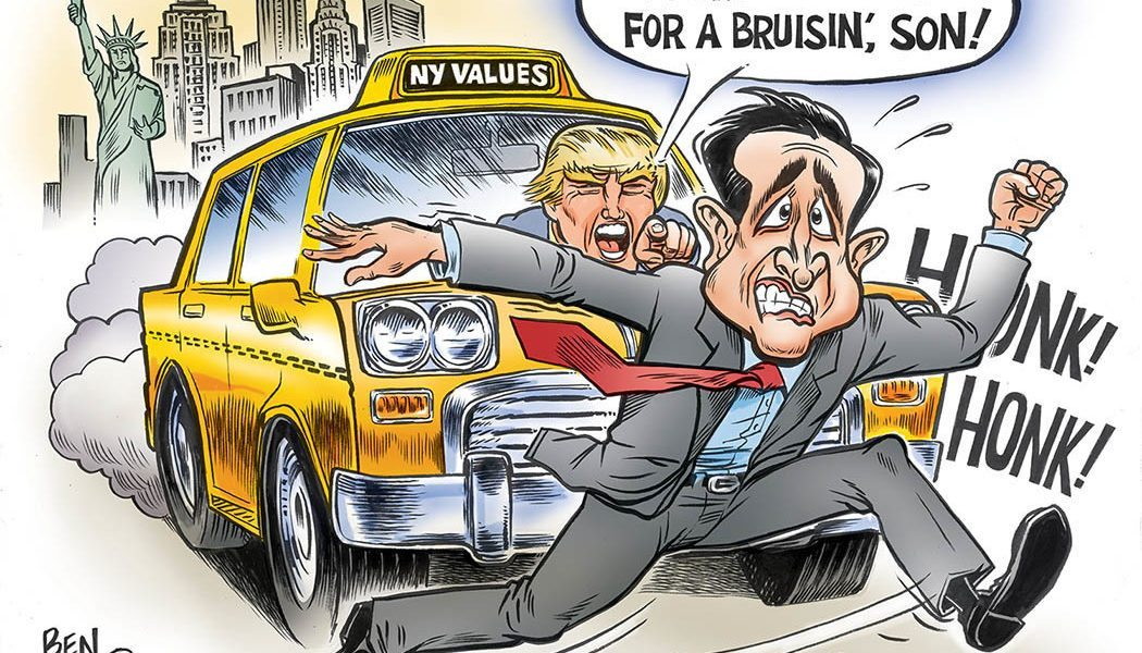 You're Cruz-n for a Brusin, Son!