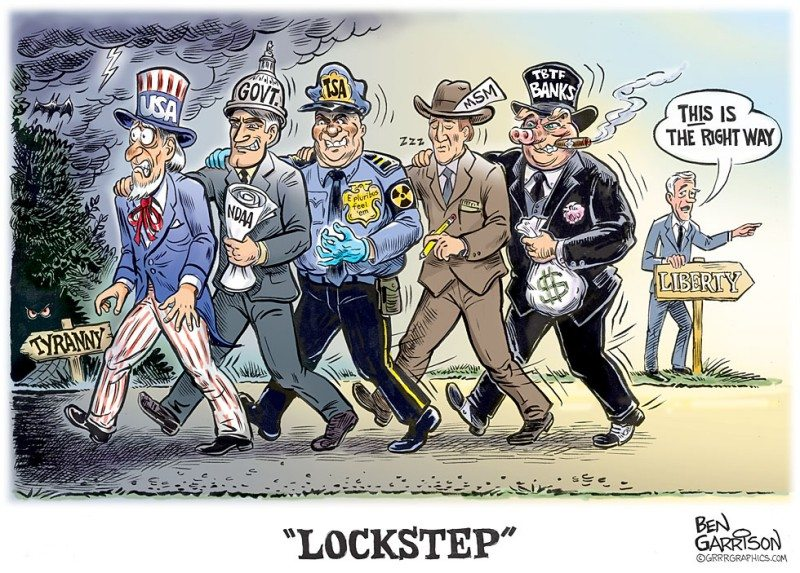 """Lockstep"" Our New Cartoon"