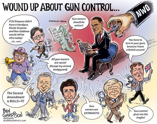 MSM: Wound up about Gun Control!