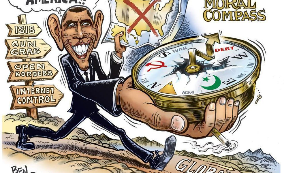 """Obama's """"Moral compass"""" He """"loves"""" America"""