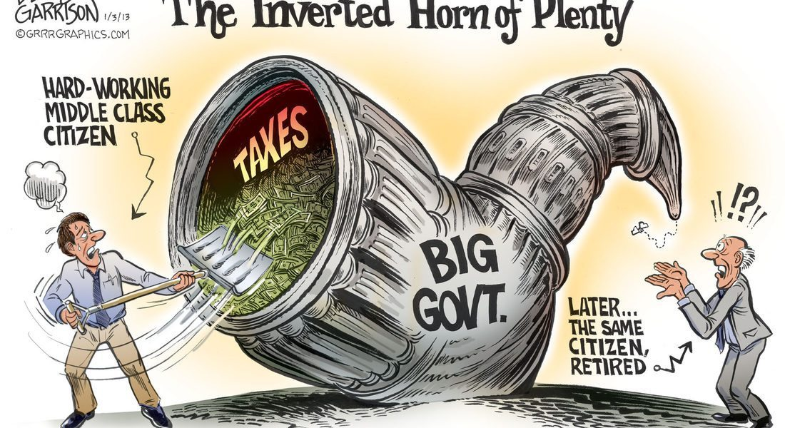 The Inverted Horn of Plenty