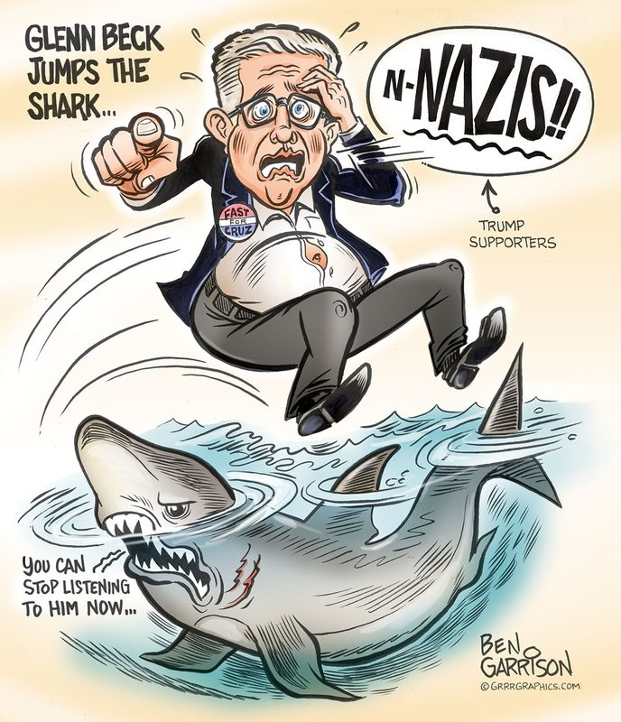 Glen Beck Jumps the Shark again