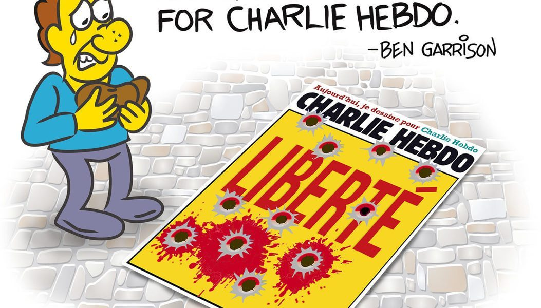 Today I draw for Charlie Hebdo