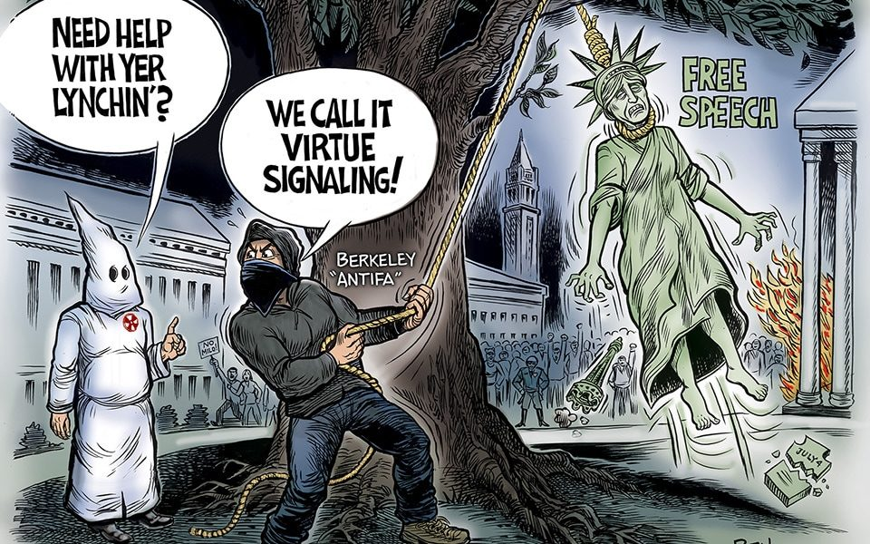 Virtue Signaling, Berkeley Style