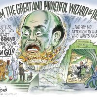 Wizard of Debt cartoon by Ben Garrison