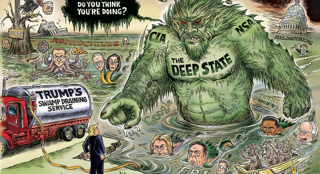 Drain the Deep State Swamp