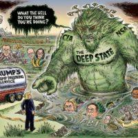 Deep State Swamp by Ben Garrison