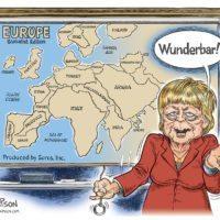 Europe Map cartoon by Ben Garrison