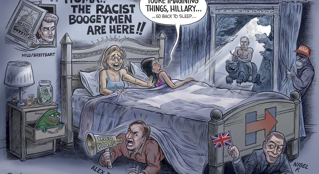 Hillary's Boogeymen…