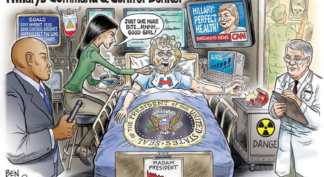 Hillary's Command Bunker 2017