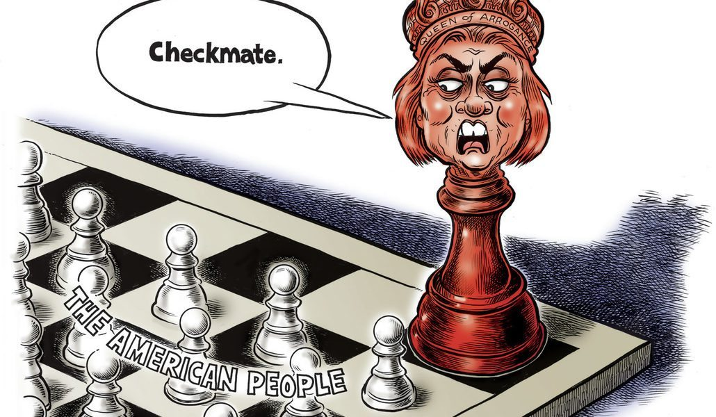 Hillary Clinton's Checkmate