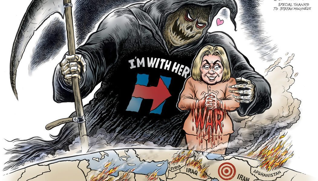 """Death, """"I'm with HER"""""""