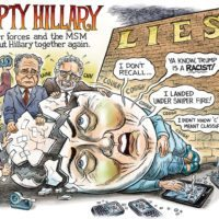 Humpty Hillary cartoon by Ben Garrison