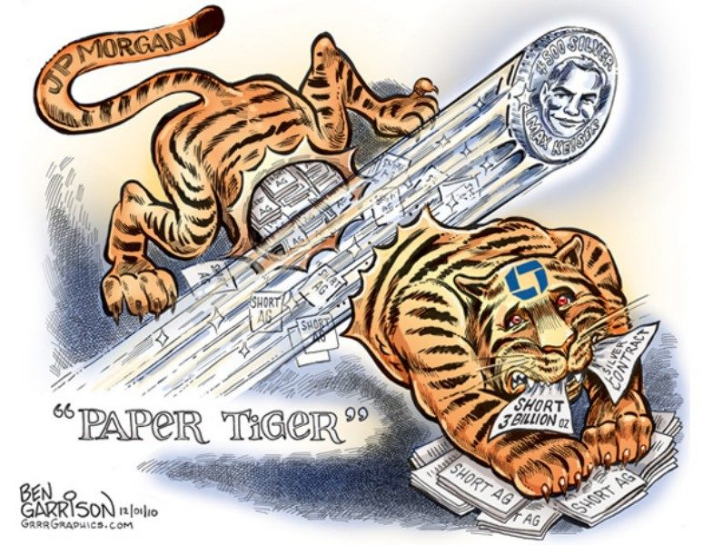 JP Morgan Paper Tiger
