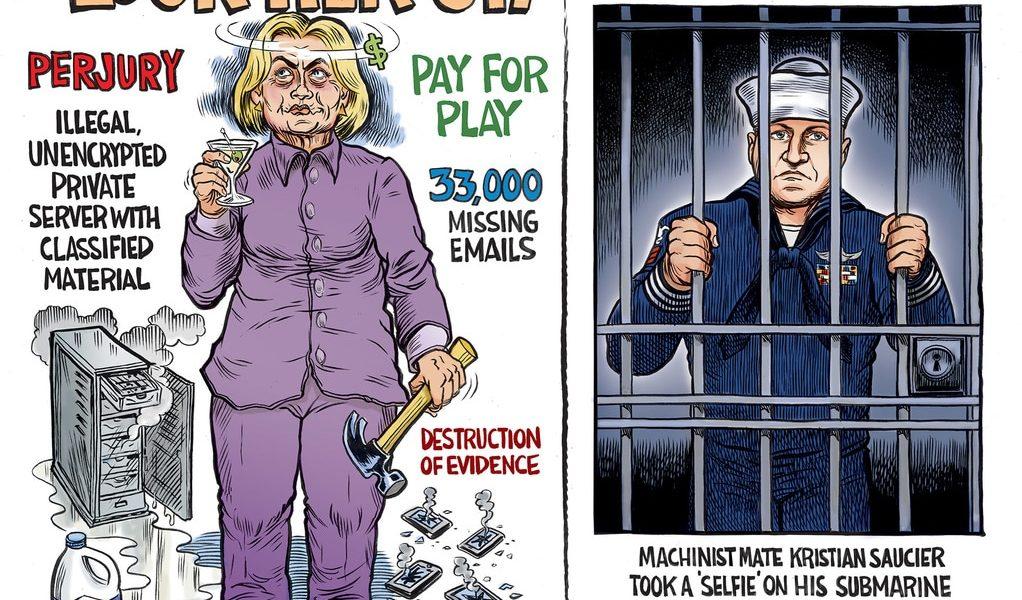 Lock Her Up!