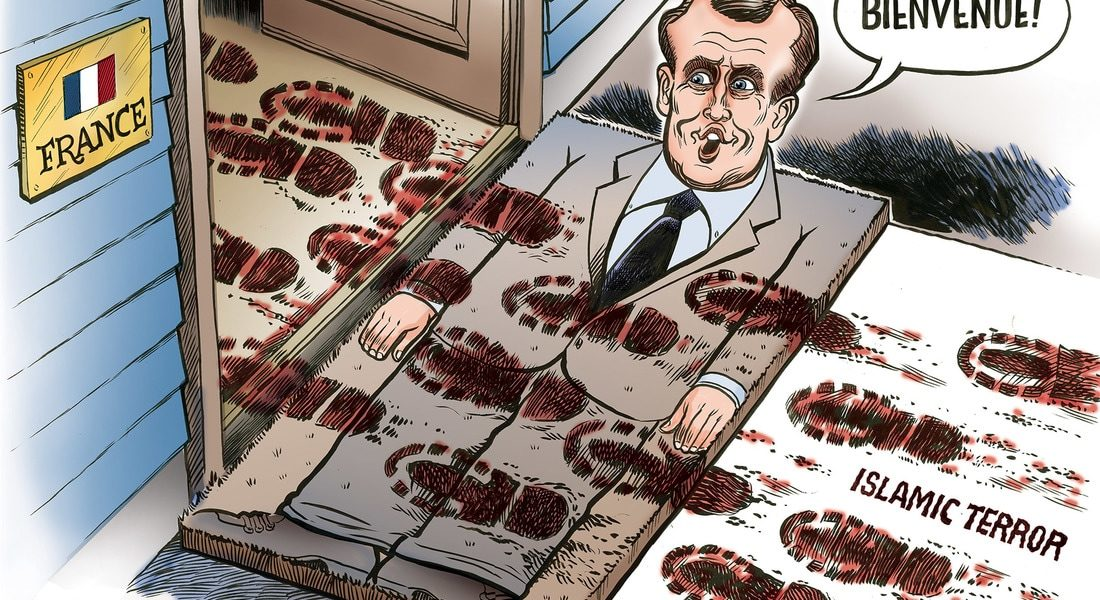 Macron, The Welcome mat