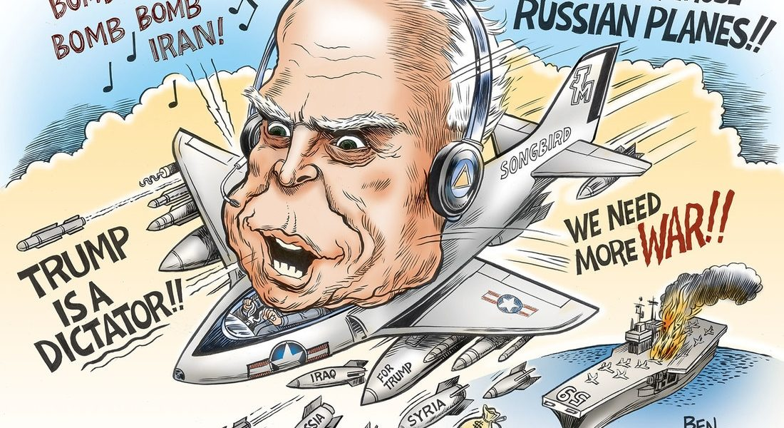 John McCain, the Mad Bomber