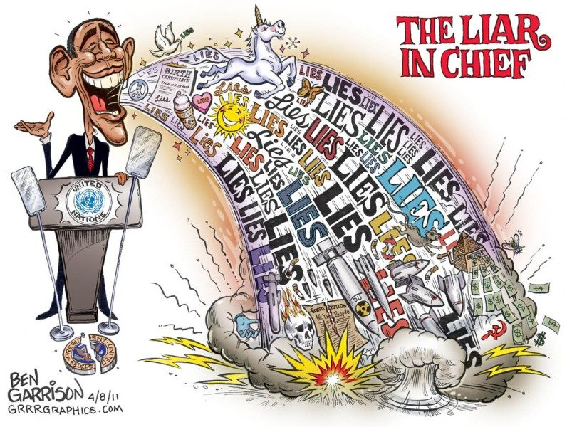 The Liar in Chief, Obama