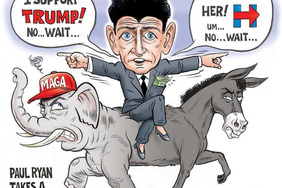 Paul Ryan Takes a Side