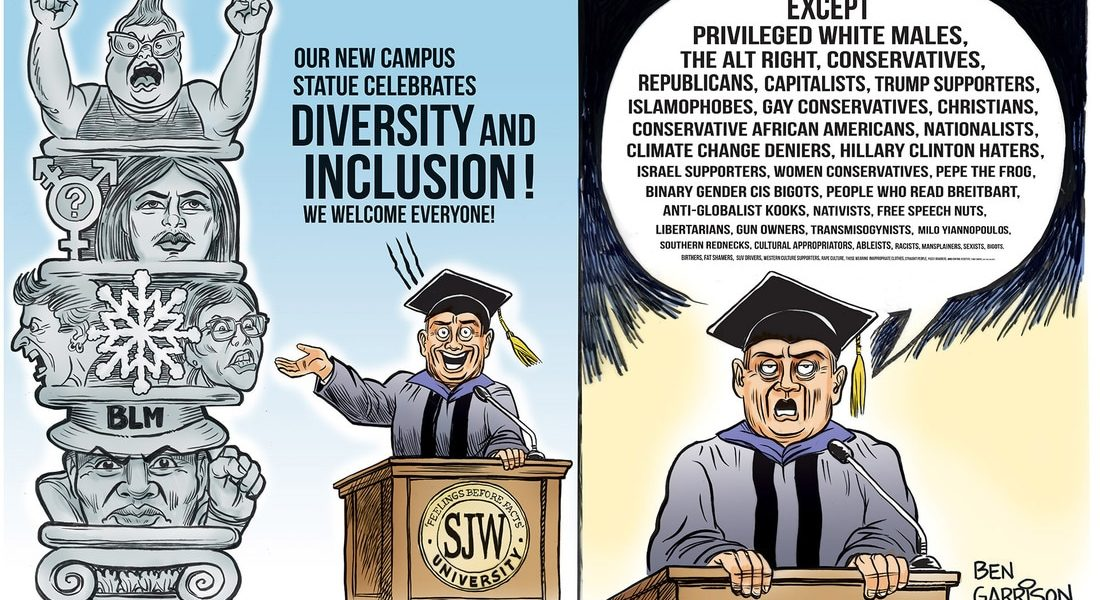 No College For White Men