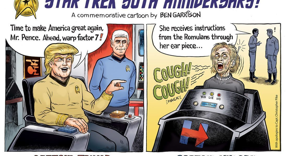 Star Trek Commemorative Cartoon