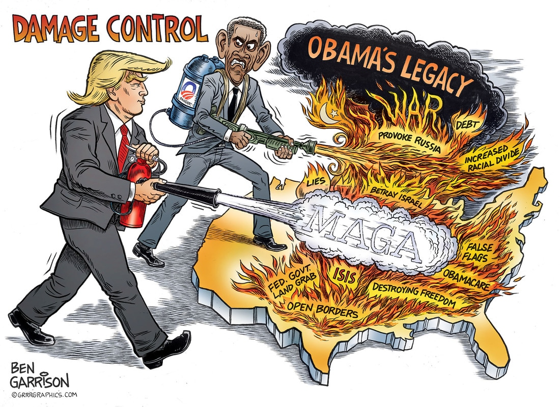 Image result for ben garrison cartoon obama
