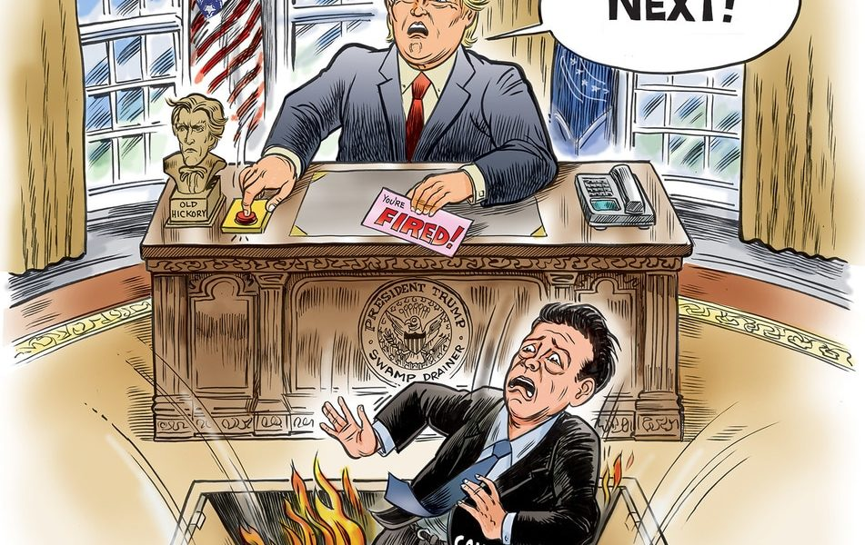 Comey, You're Fired!
