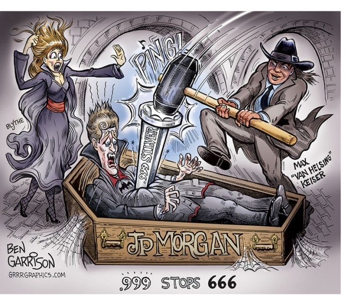 JP Morgan .999 Stops 666