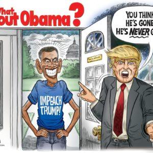 What About Obama cartoon by Ben Garrison