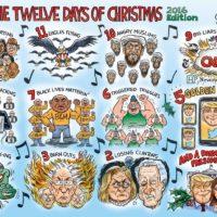 Christmas Cartoon by Ben Garrison