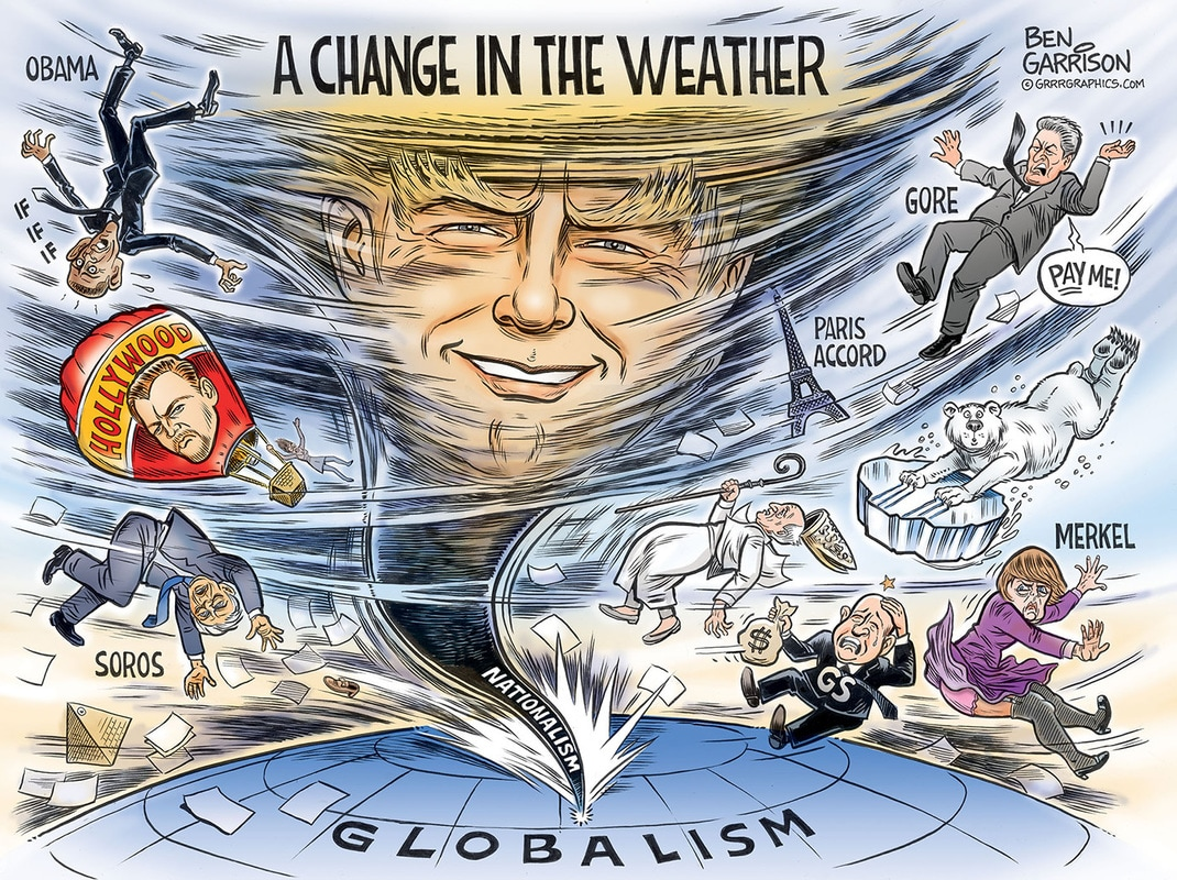 A Change in the Weather cartoon by Ben Garrison
