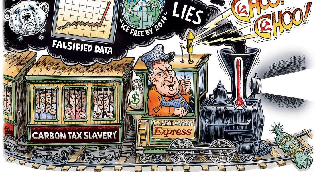 Al Gore's Climate Change Express