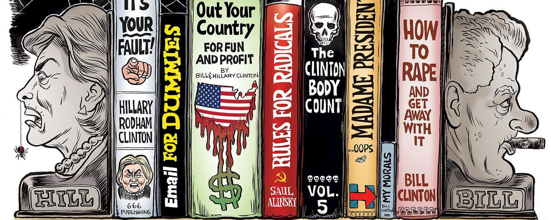 """The Clinton Bookends"""