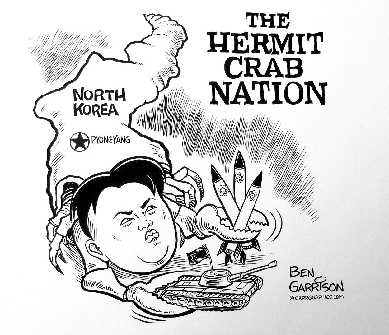 the hermit crab nation grrr graphics