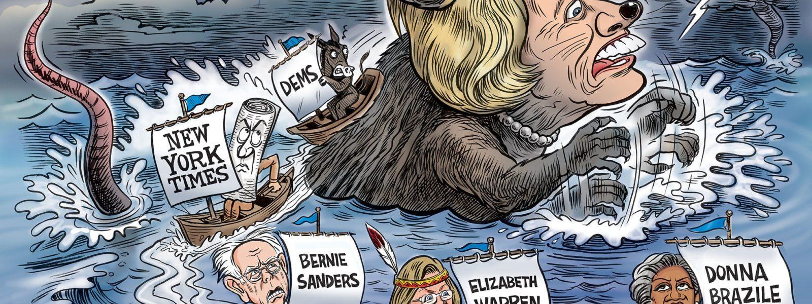 Ships Deserting a Sinking Rat
