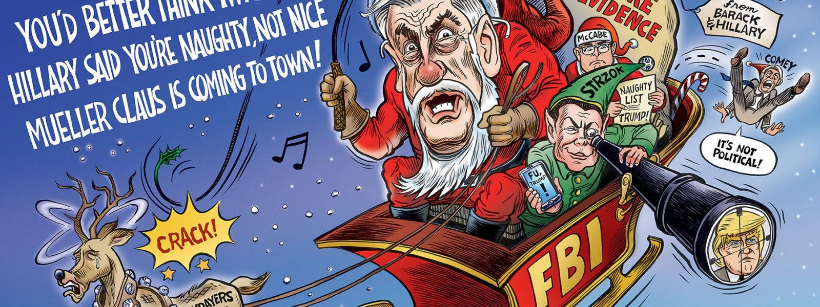 Mueller Claus is Coming to Town