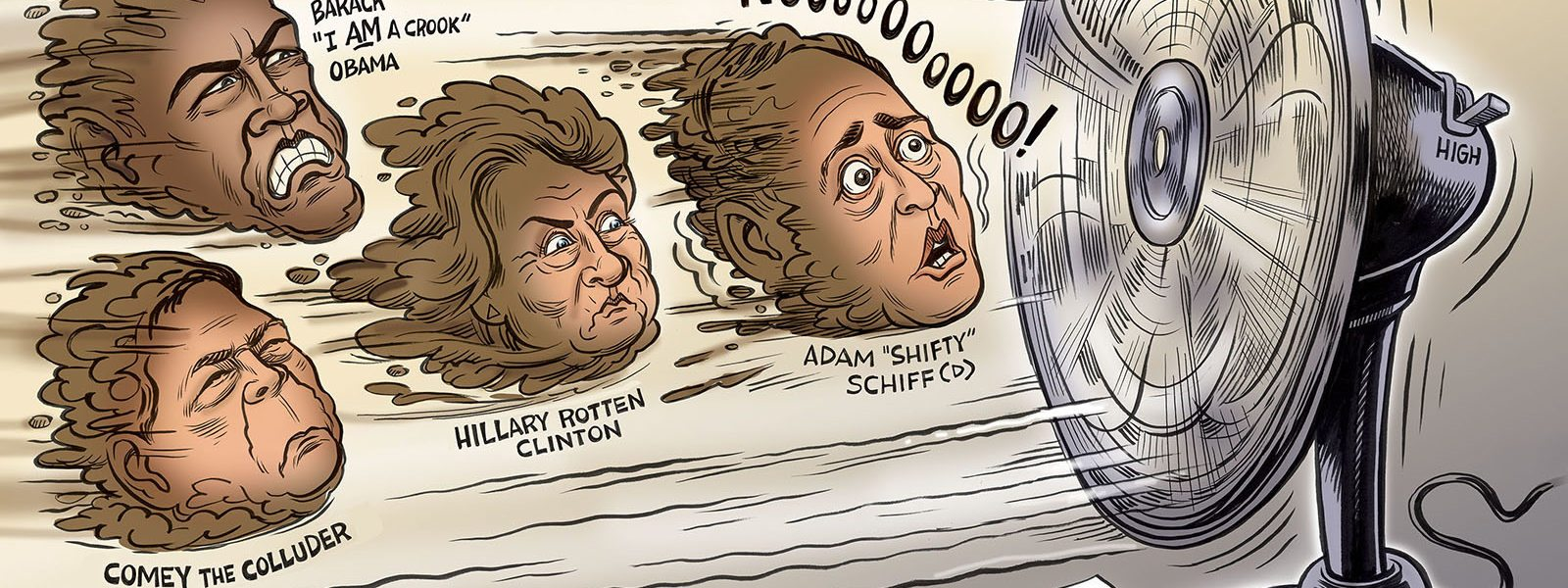 The Schiff Hits the Fan