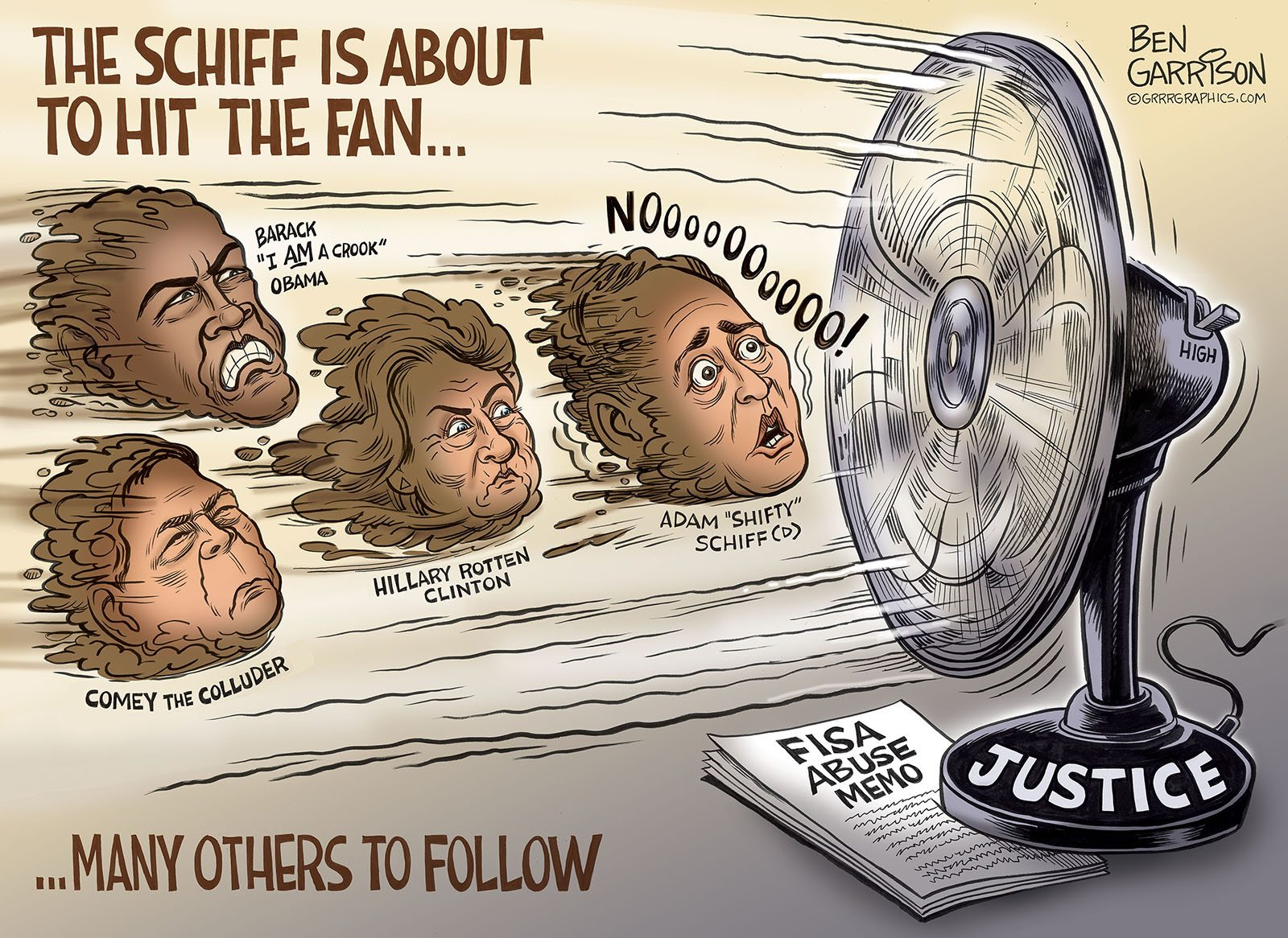 The Schiff is About to Hit the Fan
