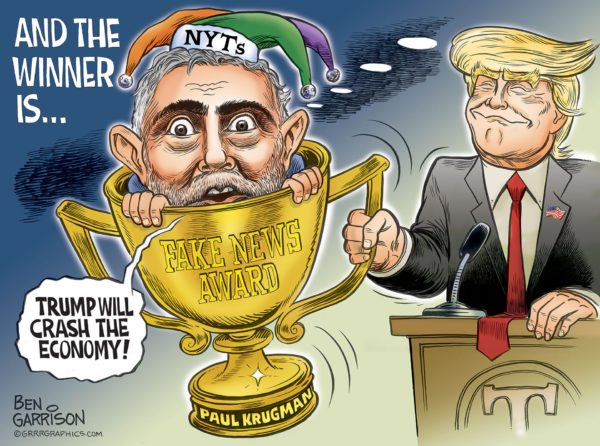 The Big Winner, Fake News Awards