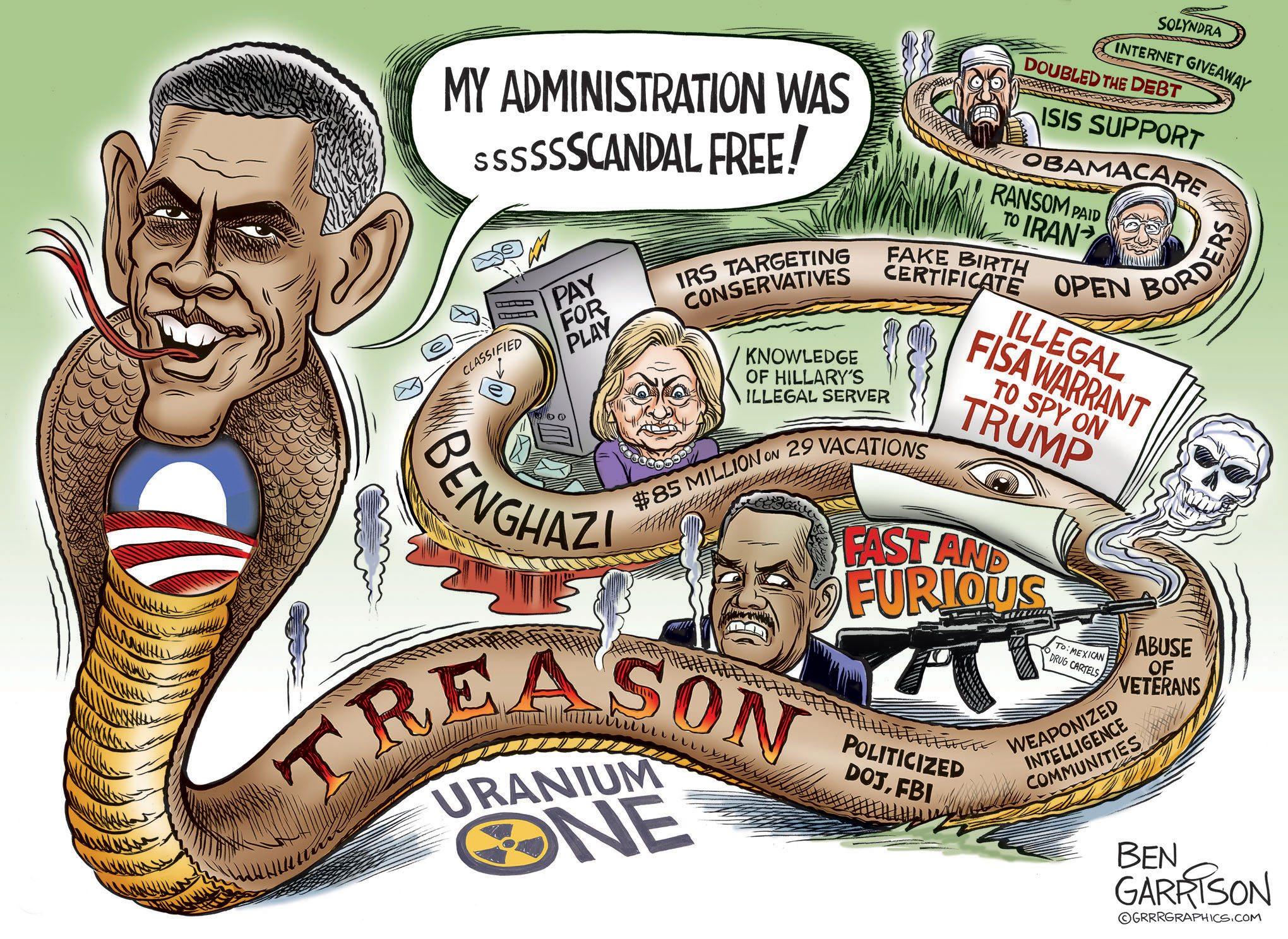 Obama Treason Snake